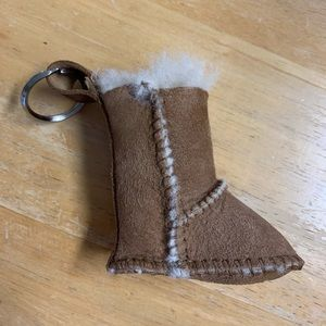 Small UGG Boot Keychain